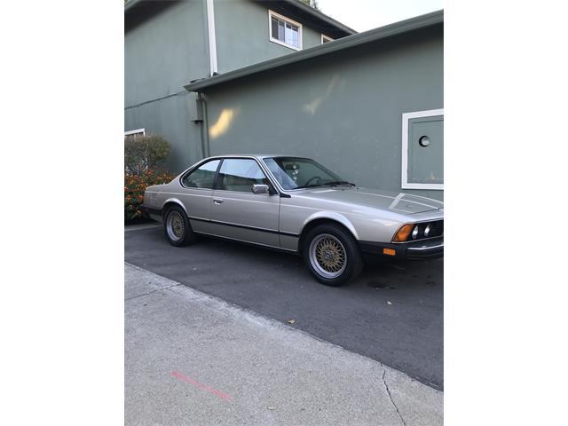 1983 BMW 633csi (CC-1520392) for sale in Redwood city, California