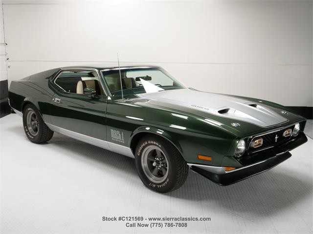 1971 Ford Mustang Mach 1 (CC-1524054) for sale in Reno, Nevada