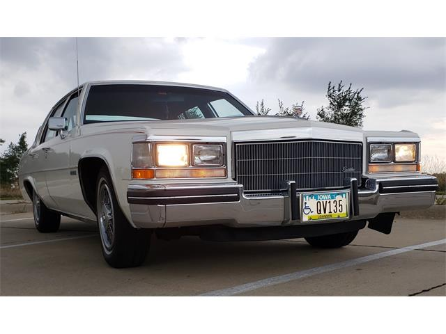 1983 Cadillac DeVille (CC-1524203) for sale in Iowa City , Iowa