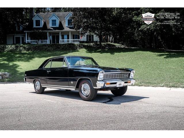 1966 Chevrolet Nova II SS (CC-1524304) for sale in Milford, Michigan