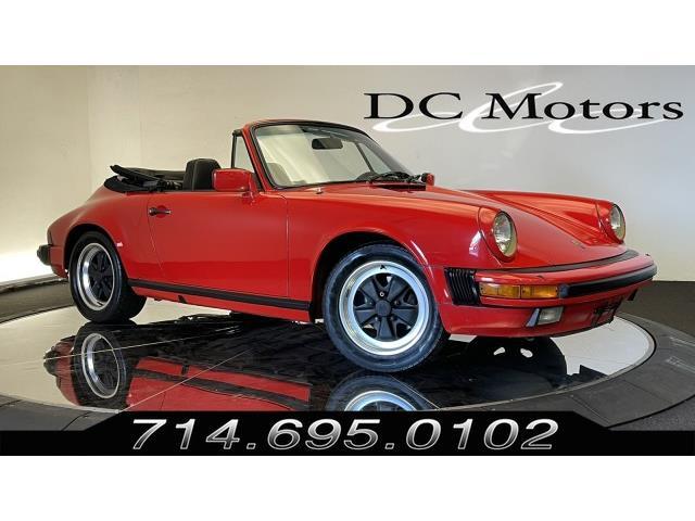 1984 Porsche 911 (CC-1524381) for sale in Anaheim, California