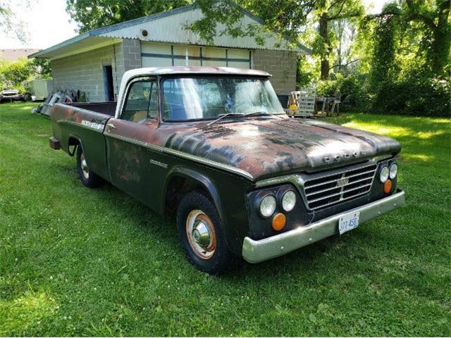 1963 Dodge D100 (CC-1524733) for sale in Cadillac, Michigan