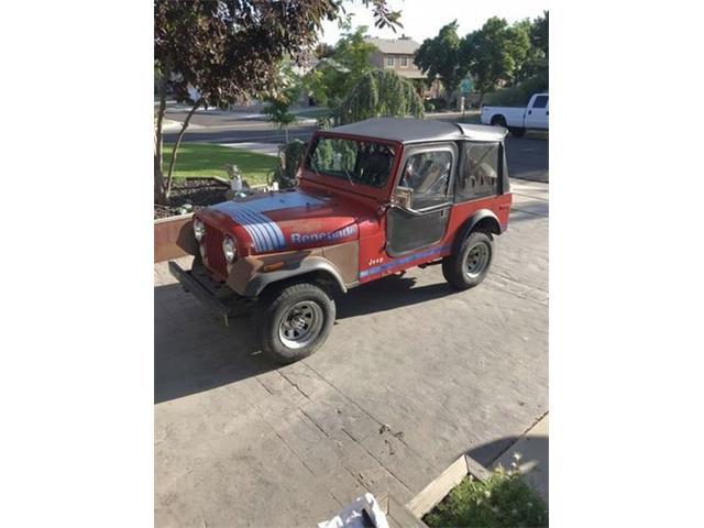 1980 Jeep CJ7 (CC-1524746) for sale in Cadillac, Michigan