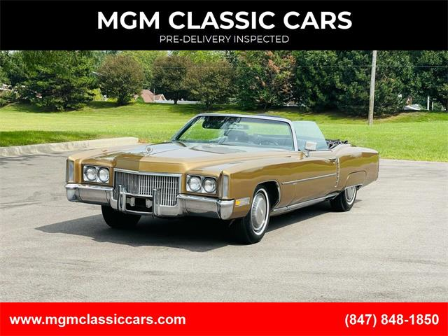 1971 Cadillac Eldorado (CC-1520486) for sale in Addison, Illinois