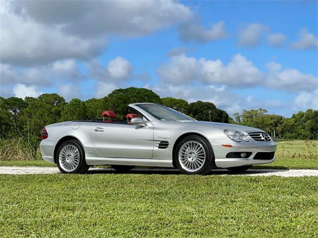 2003 Mercedes-Benz SL55 (CC-1524901) for sale in Boca Raton, Florida