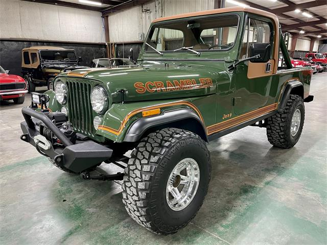 1981 Jeep CJ8 Scrambler (CC-1524960) for sale in Sherman, Texas