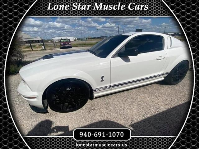 2007 Shelby GT500 (CC-1525155) for sale in Wichita Falls, Texas