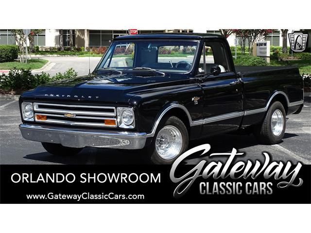 1967 Chevrolet C10 (CC-1525157) for sale in O'Fallon, Illinois