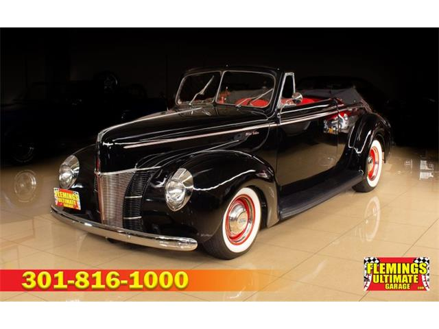 1940 Ford Cabriolet (CC-1525500) for sale in Rockville, Maryland