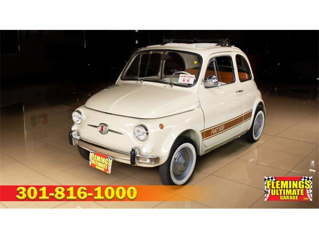 1965 Fiat 500L (CC-1525503) for sale in Rockville, Maryland