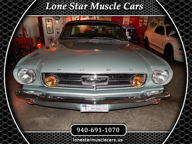 1965 Ford Mustang (CC-1525509) for sale in Wichita Falls, Texas