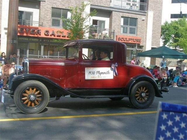 1930 Plymouth Business Coupe (CC-1525577) for sale in Cadillac, Michigan