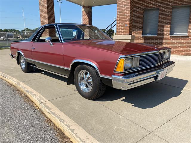 1981 Chevrolet El Camino (CC-1525625) for sale in Davenport, Iowa