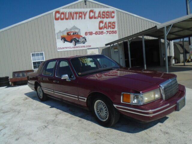 1993 Lincoln Town Car (CC-1525704) for sale in Staunton, Illinois