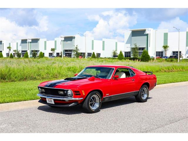 1970 Ford Mustang Mach 1 (CC-1525722) for sale in Winter Garden, Florida