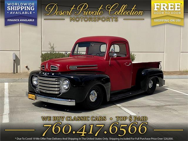 1950 Ford F1 (CC-1525838) for sale in Palm Desert , California