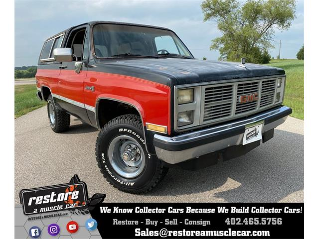 1986 GMC Jimmy (CC-1525900) for sale in Lincoln, Nebraska