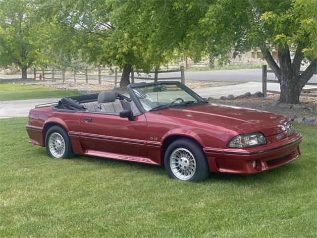1988 Ford Mustang (CC-1525947) for sale in Cadillac, Michigan