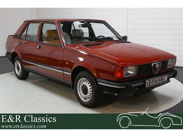 1983 Alfa Romeo Giulietta Spider (CC-1526067) for sale in Waalwijk, [nl] Pays-Bas