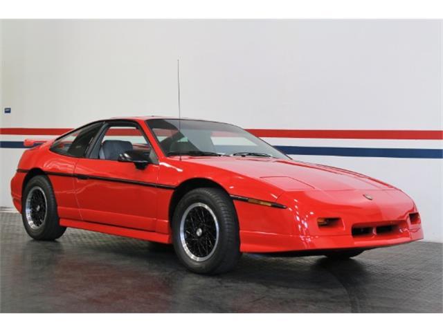 1988 Pontiac Fiero (CC-1526103) for sale in San Ramon, California