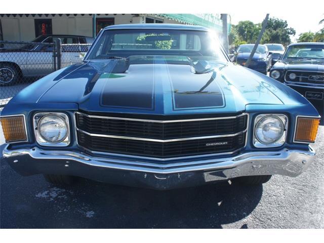 1972 Chevrolet El Camino (CC-1526107) for sale in Lantana, Florida