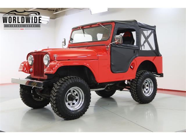 1955 Jeep CJ (CC-1526242) for sale in Denver , Colorado