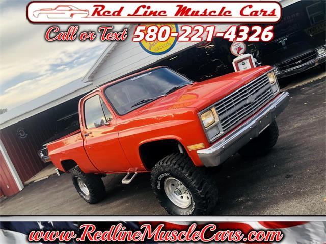 1983 Chevrolet C/K 10 (CC-1520625) for sale in Wilson, Oklahoma