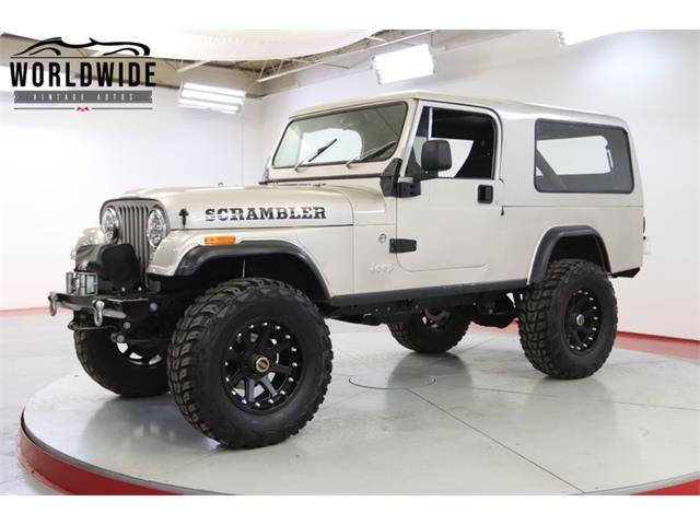 1981 Jeep CJ (CC-1526250) for sale in Denver , Colorado