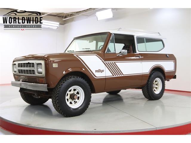 1980 International Scout (CC-1526262) for sale in Denver , Colorado
