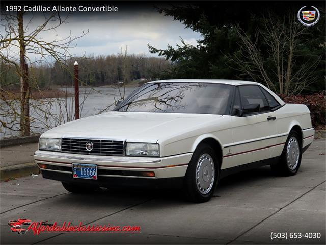 1992 Cadillac Allante (CC-1526330) for sale in Gladstone, Oregon