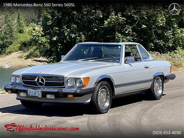 1986 Mercedes-Benz 560SL (CC-1526353) for sale in Gladstone, Oregon