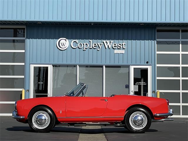 1961 Alfa Romeo Giulietta Spider (CC-1526427) for sale in NEWPORT BEACH, California