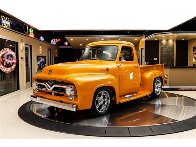 1955 Ford F100 (CC-1526514) for sale in Plymouth, Michigan