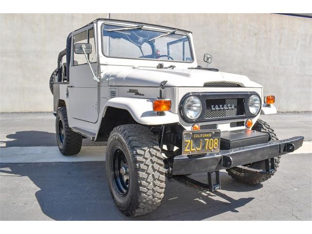 1969 Toyota Land Cruiser FJ40 (CC-1526562) for sale in Costa Mesa, California