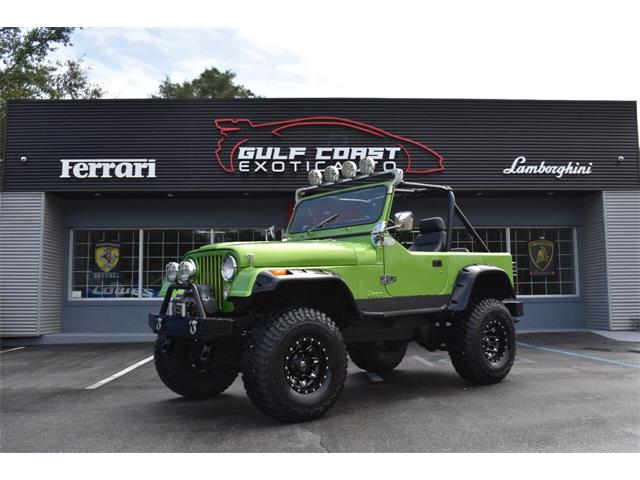 1983 Jeep CJ7 (CC-1526686) for sale in Biloxi, Mississippi