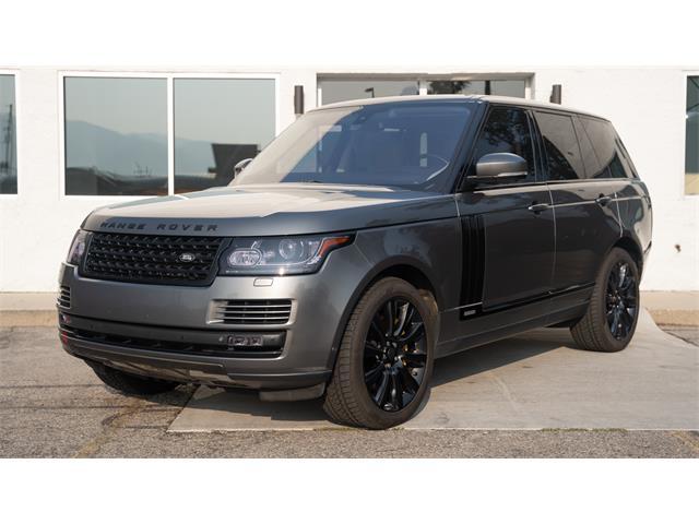 2015 Land Rover Range Rover (CC-1520677) for sale in SLC, Utah