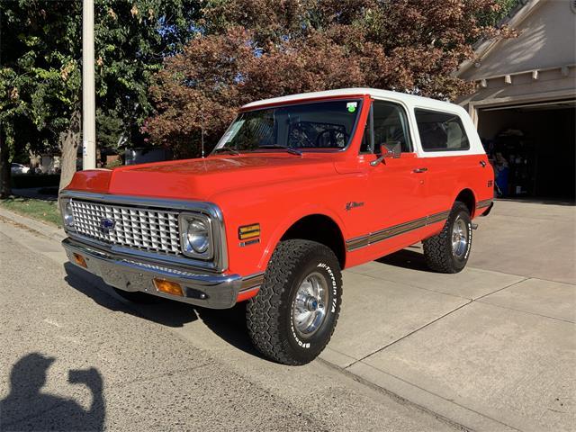 1971 Chevrolet Blazer (CC-1526935) for sale in Tulare, California