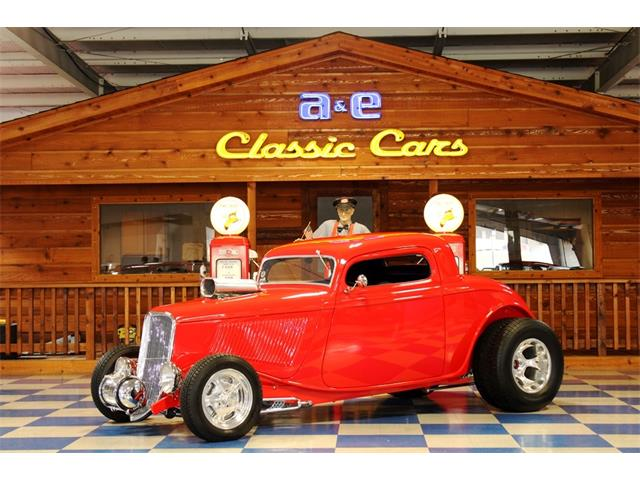 1934 Ford Coupe (CC-1526976) for sale in New Braunfels , Texas