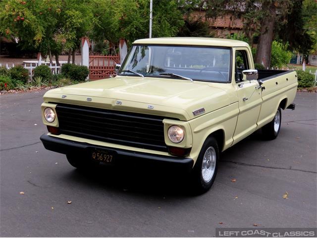 1967 Ford F100 (CC-1526986) for sale in Sonoma, California