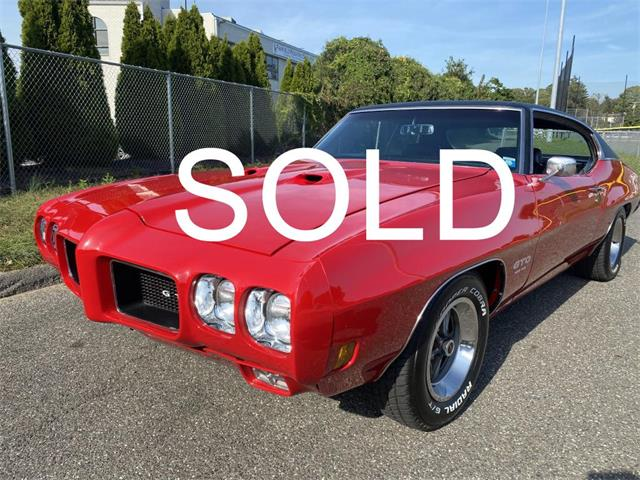 1970 Pontiac GTO (CC-1527122) for sale in Milford City, Connecticut