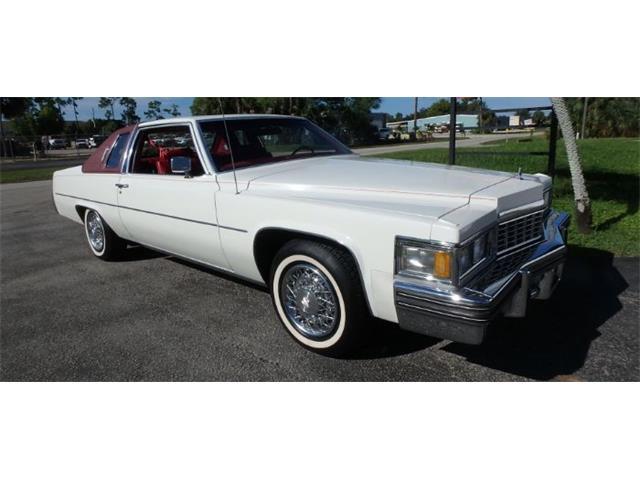 1977 Cadillac Coupe DeVille (CC-1527207) for sale in Cadillac, Michigan