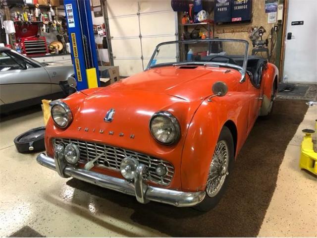 1959 Triumph TR3 (CC-1527212) for sale in Cadillac, Michigan