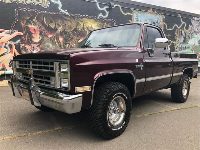 1986 Chevrolet K-10 (CC-1520722) for sale in Greensboro, North Carolina
