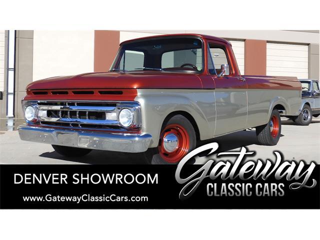 1961 Ford F100 (CC-1527346) for sale in O'Fallon, Illinois