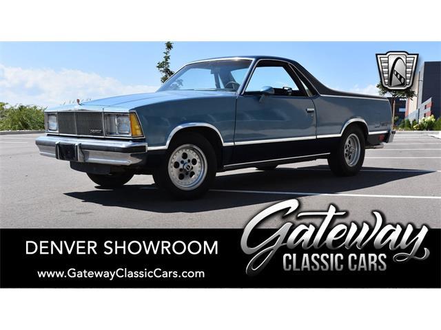 1980 Chevrolet El Camino (CC-1527375) for sale in O'Fallon, Illinois