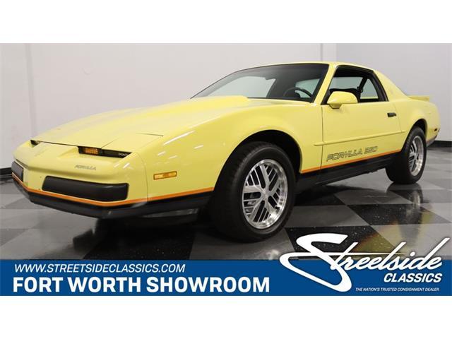 1987 Pontiac Firebird (CC-1527650) for sale in Ft Worth, Texas