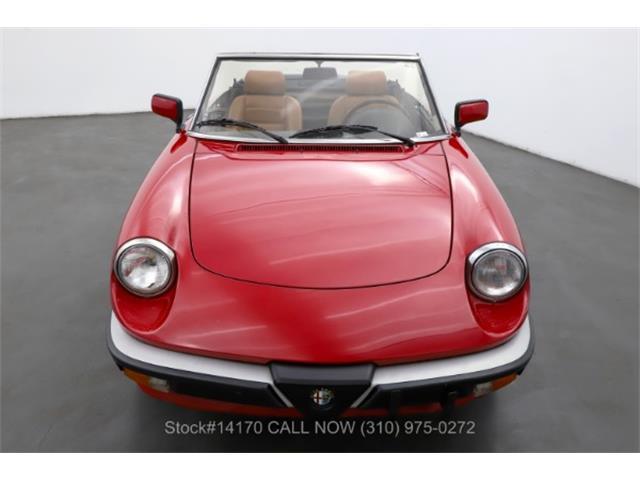 1989 Alfa Romeo 2000 Spider Veloce (CC-1520078) for sale in Beverly Hills, California