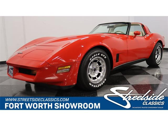 1980 Chevrolet Corvette (CC-1527884) for sale in Ft Worth, Texas