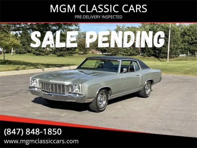 1972 Chevrolet Monte Carlo (CC-1527969) for sale in Addison, Illinois