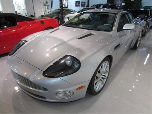 2003 Aston Martin Vanquish (CC-1528068) for sale in Cadillac, Michigan